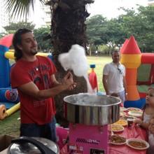 אטרקציות ליום הולדת - מכונת סוכר
