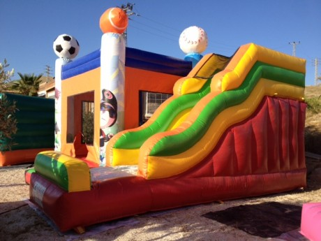השכרת מתנפחים בתל אביב - כדורגל