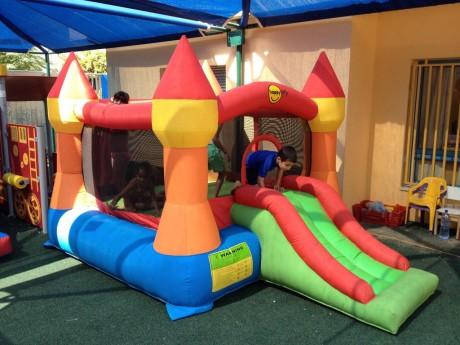 השכרת מתנפח הטירה הקסומה לגן ילדים