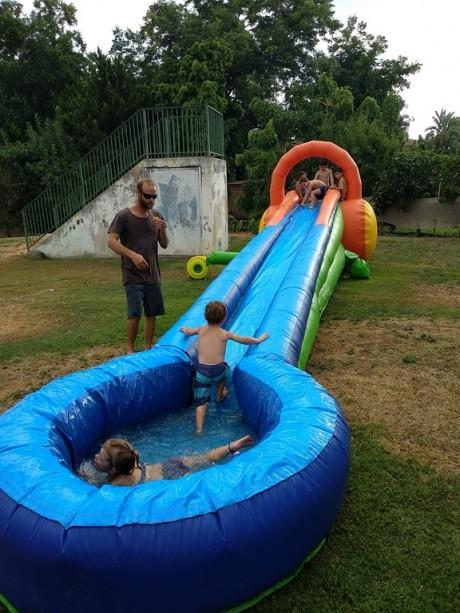 מתנפח מים לגיל 6